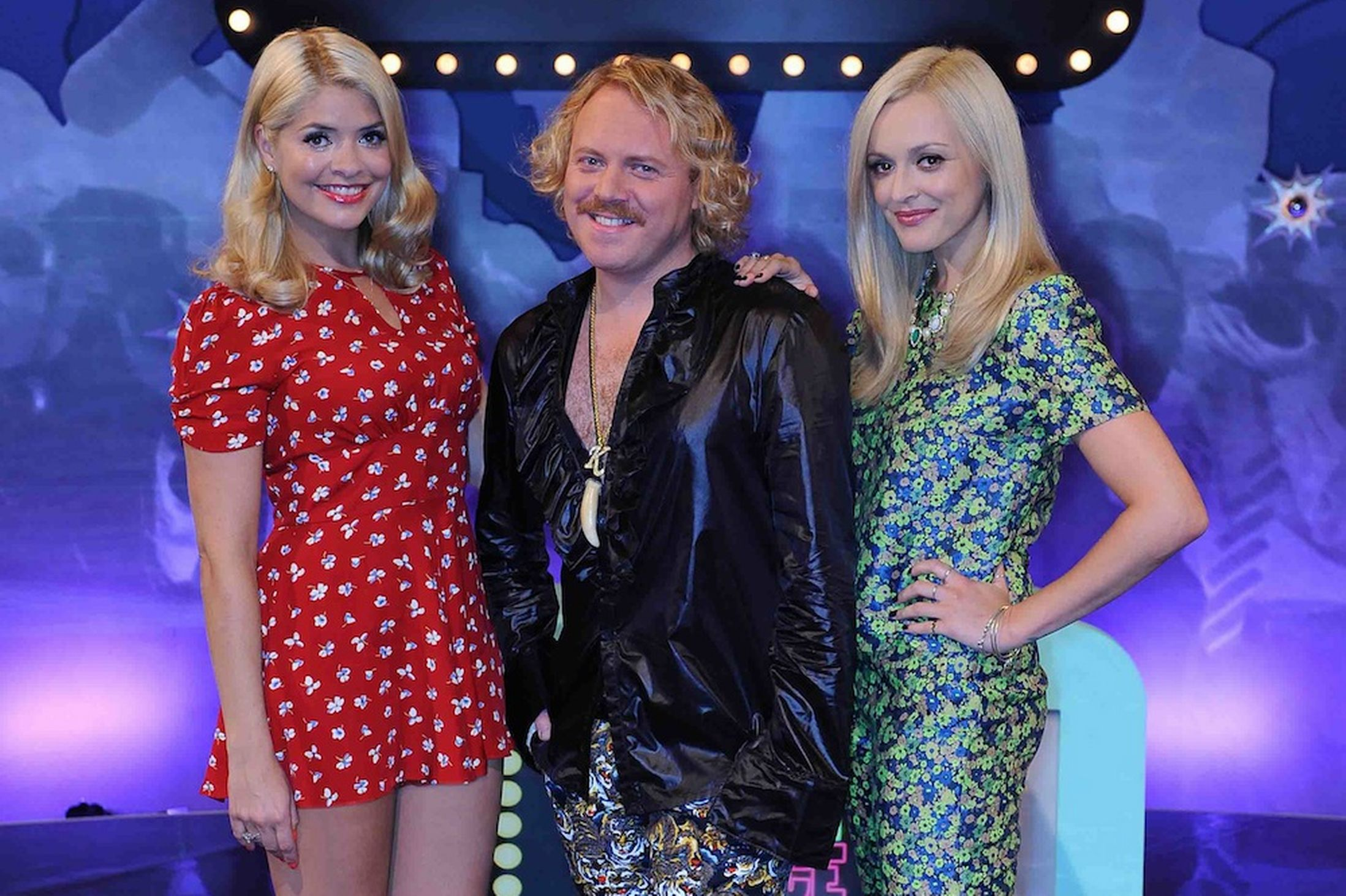Keith Lemon, Holly Willoughby, Fearne Cotton